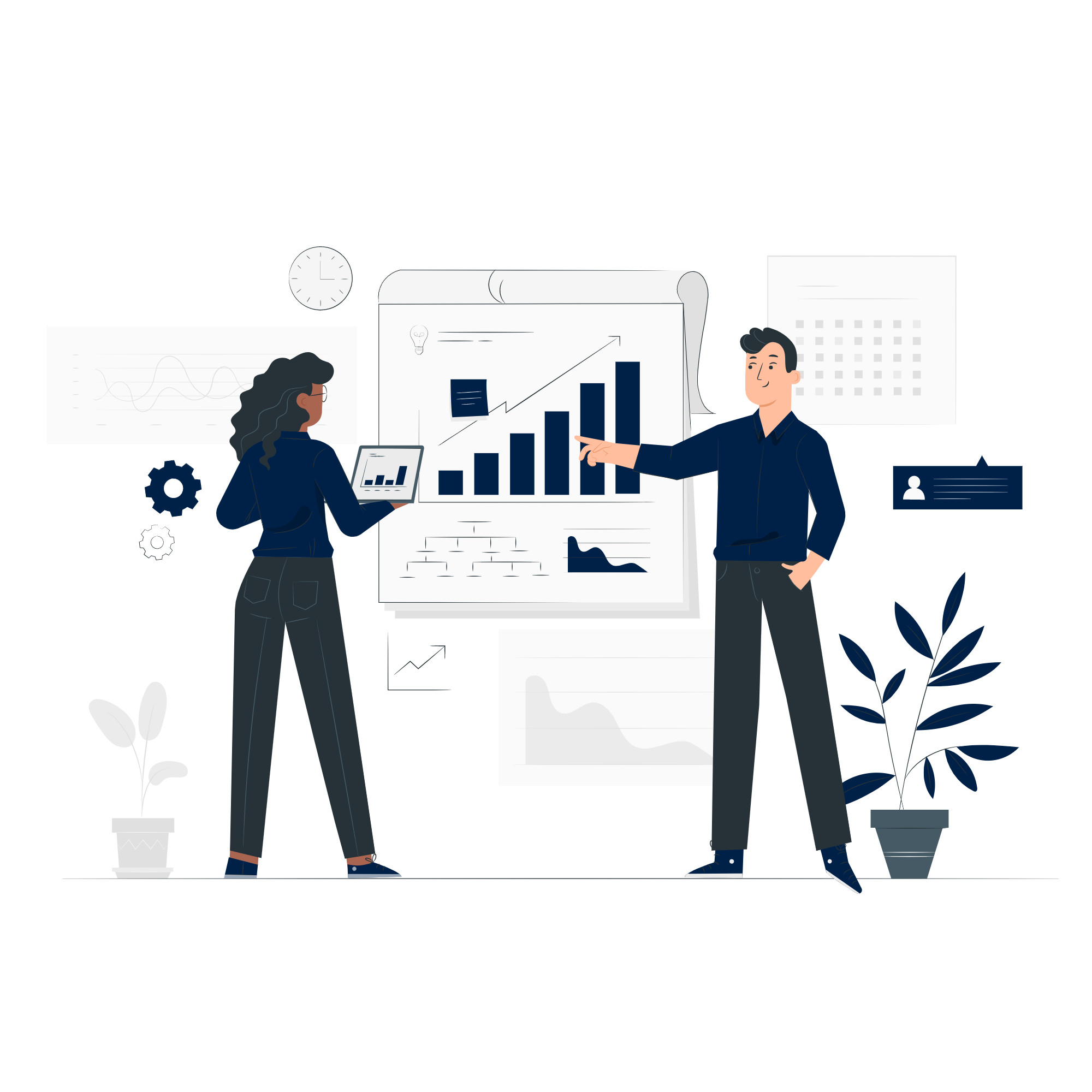 Your dedicated accountant will always be on hand to answer your questions and conduct in depth research when needed. You can contact them direct via email, phone, arrange a virtual meeting or meet in person.